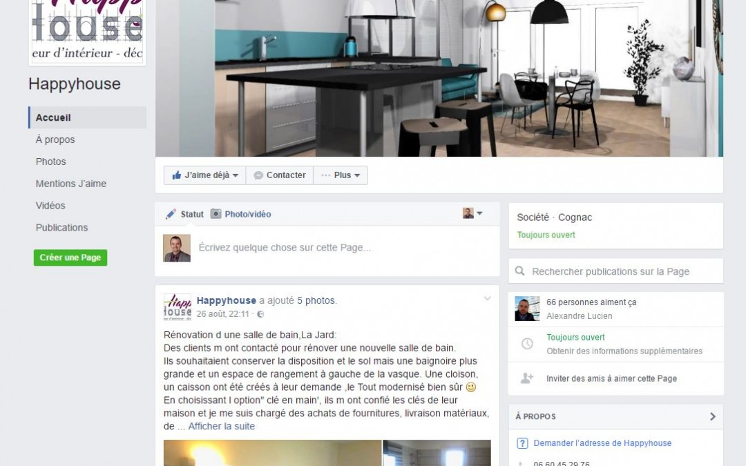 Compte Facebook Happy-House - Architecture d'interieur Saintes
